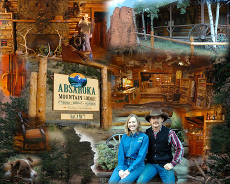Cody WY Restaurants- absaroka mountain lodge
