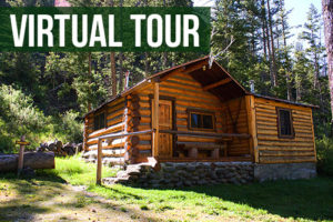 virtual tour of the lodge cabins and surroundings